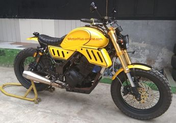 Aura Sport Seketika Lenyap, Kawasaki Ninja 250 Nekat Pindah Haluan Jadi Simple Motard