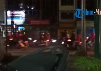 Medan Mencekam, Video Detik-detik Geng Motor Hancurkan Kedai Kopi, Berawal Dari Konvoi