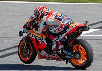 Hasil FP4 MotoGP Aragon 2019, Marc Marquez Kembali Tercepat, Valentino Rossi Beda 0,9 Detik.