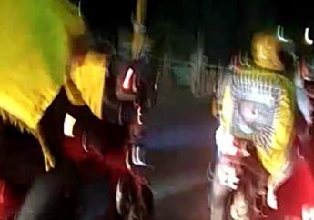 Jombang Mencekam, Rombongan Pencak Silat Bermotor Terlibat Pengerusakan, Kaca Truk Berserakan