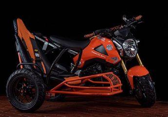 Pasang Sespan, Aura Kegantengan Honda Grom 125 Gak Pudar Sama Sekali