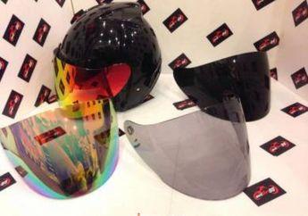 Amankah Pakai Visor Helm Gelap Untuk Harian? Begini Cara Pilihnya Sesuai Kebutuhan