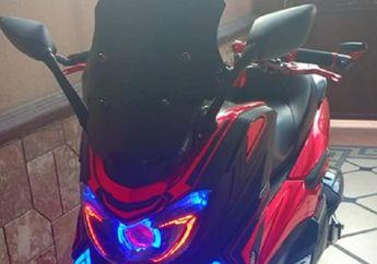 Tampang Baru Yamaha NMAX Lebih Gagah, Full Variasi Puluhan Juta Rupiah