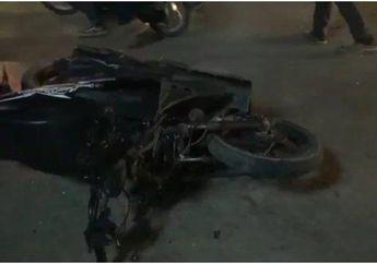 Fatal, Gara-gara Motor Tak Pakai Lampu Utama, Honda BeAT Dihajar Elf Nyawa Pun Melayang