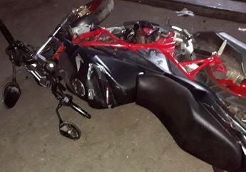 Pemilik Pasrah, Honda CB 150R Milik Wartawan Hancur Dirusak Aparat saat Demo di Depan Gedung DPR/MPR