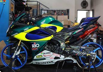 Bikin Penasaran, Berapa Banderol Pelek Aluminium Spek Balap Buat Motor Sport 250 Cc?