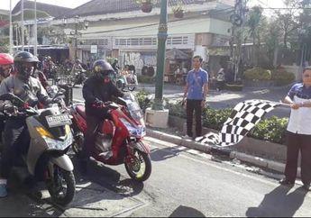 Maxi Day 8 Jelajahi Yogyakarta - Purwokerto Diikuti Lebih dari 200 Pengguna Skutik Maxi Yamaha