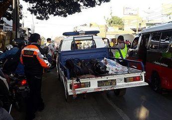 Miris, Senggolan di Jalan Raya Seorang Pemotor Tewas Setelah Ditabrak Yamaha V-ixion