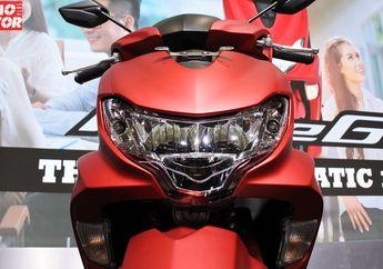 Racun Lampu Yamaha FreeGo, Lebih Terang dan Bisa Pilih Warna