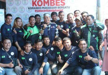 Salut, Komunitas Ojek Online Lakukan Donor Darah, Dapat Apresiasi Dari Ketua PMI Makassar