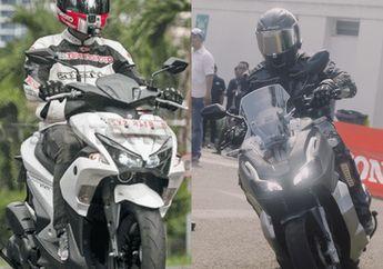 Mana yang Irit Biaya Bensin Per Hari Antara Honda ADV150 dengan Yamaha Aerox 155?