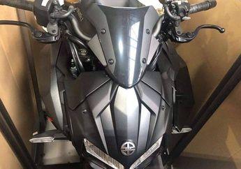 Bodi membulat Mirip Robot, Terbongkar Penampakan Kawasaki Z H2, Mesinnya Supercharged