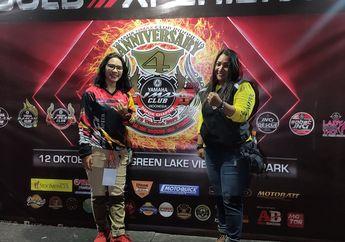 Salut, 2 Lady Biker Yamaha NMAX Club Indonesia Turing Sampai Jogja