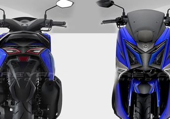 Wajah Baru Yamaha NMAX Makin Agresif Kena Rombak di Headlamp, Jadi Mirip Transformers?