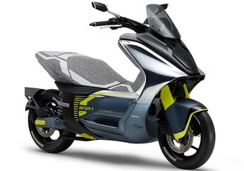 Setelah Honda PCX Electric, Yamaha Siapkan NMAX Listrik Bodi Slim Aerodinamis