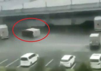 Jepang Mencekam, Video Dahsyatnya Topan Hagibis Lumpuhkan Jalan Raya, Mobil Sampai Beterbangan