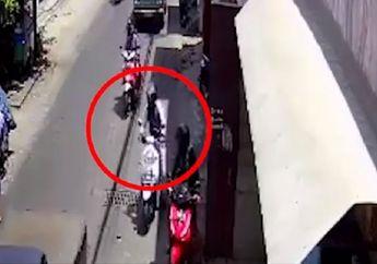 Sedih, Baru Dua Hari Jadi Driver Ojol, Motor Matic Milik Ponasri Raib Saat Ditinggal Makan Siang