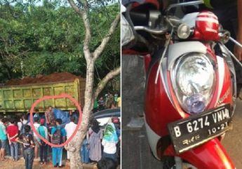 Truk Tanah Kembali Makan Korban di Graha Raya, Mahasiswi Tewas Terlindas, Honda Scoopy Ringsek