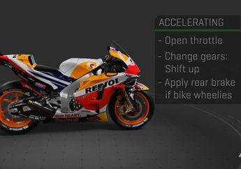 Gas Dan Rem di Motor MotoGP, Video Butuh 3 Alat Ini Pas Ngebut. Lebih Banyak Lagi Saat Ngerem