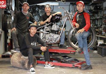 Dipopulerkan Jokowi, Rangka Chopperland Elders Garage Bikin Gampang Bangun Motor Kustom?