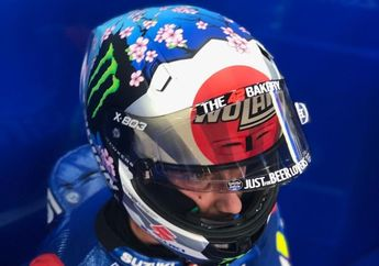 Maknanya Dalem, Ini Alasan Rins Pakai Helm Spesial di MotoGP Jepang 2019