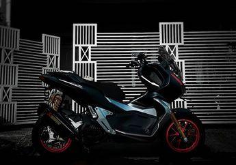 Modifikasi Hedon Honda ADV150, Pelek Marchesini Sampai Knalpot Akrapovic