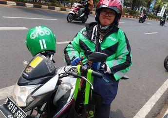 Mengharukan, Curhatan Driver Ojol Wanita Yang Ditinggal Anak dan Suami Meninggal Dunia