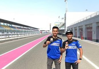 Jadwal Lebih Awal, Dua Pembalap Indonesia Jalani Debut Balapan Malam WSSP300 Qatar