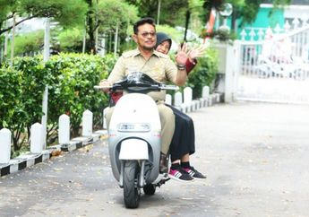 Syahrul Yasin Limpo Jadi Menteri Pertanian, Pernah Bergaya di Atas Motor Listrik dan Koleksi Harley-Davidson