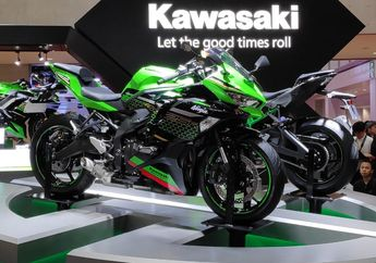 Kawasaki Ninja 250 4 Silinder Resmi Diperkenalkan, Powernya Sampai 45 Dk?