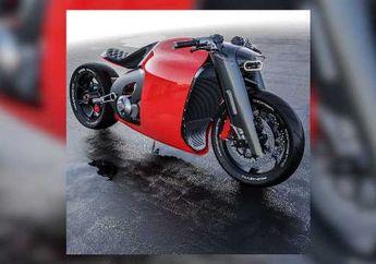 Di EICMA 2019 Motor Listrik Ducati Rancangan Insinyur Citroen, Lebih Mirip Motor Batman