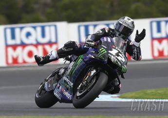 Cetak Pole Position di Kualifikasi MotoGP Australia 2019, Maverick Vinales Siap Menang di Phillip Island