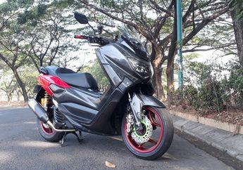 Carbon Kevlar Sampai Rp 10Juta, Modifikasi Yamaha NMAX Simpel dan Elegan