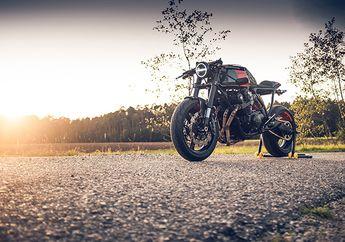 Bikin Pangling, Honda CB750 Usung Konsep Cafe Racer, Benamkan Kaki-kaki Motor Yamaha dan Suzuki