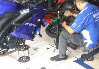 Jangan Salah, Volume Oli Sokbreker Yamaha All New R15 Kiri dan Kanan Beda, Ini Kata Mekanik Bengkel Resmi