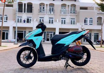Ganti Warna dan Pasang Sok Ohlins, Honda Vario 150 Asal Vietnam Ini Mencuri Perhatian