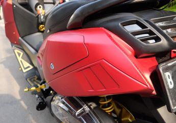 Yamaha NMAX Siap Turing Jarak Jauh, Pasang Side Box Unik Berkapasitas 15 Liter