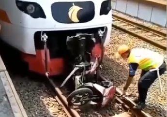 Stasiun Poris Mencekam, Terseret Kereta Pengendara Honda Vario Tewas, Palang Perlintasan Diterobos