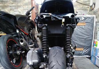 Demam Pasang Sokbreker XMAX di Yamaha NMAX, Motor Lebih Nungging Pemilik Puas