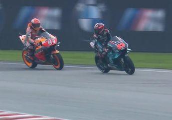 Fabio Quartararo Buka Suara Ditempel Marc Marquez Saat Kualifikasi MotoGP Malaysia 2019
