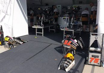 Parah, Tenda Tim Moto3 di Sirkuit Sepang Dibobol Maling, Kerugian Setara Puluhan Unit Yamaha NMAX