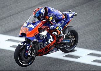 Biar Tidak Juara MotoGP Malaysia 2019, Hafizh Syahrin Selebrasi Keliling Sirkuit, Ini Alasannya