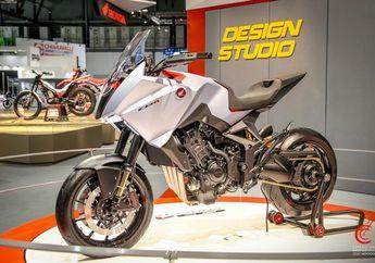 Tampil Jangkung Mirip Belalang, Honda CB4 X Concept Hadir di EICMA 2019, Fiturnya Enggak Nahan