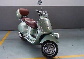 Bikin Melongo, Vespa GTV 250ie CBU Italia Harga Bekasnya Setara Honda Brio Baru