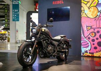 Jadi Moge Honda Paling Laris di Indonesia, Rebel Bakal Pakai Mesin CRF?