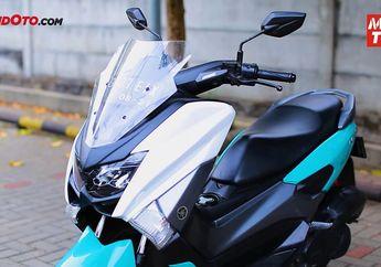 Tampang Yamaha NMAX Berubah Total, Tonton Video Cara Pasang Cover Bodi Terbaru dari Lent Automodified