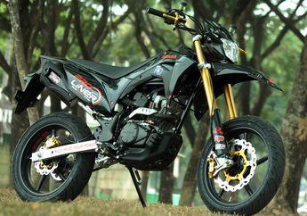 Sangar Honda CRF Supermoto Racing Boy Padahal Cuma Modif Kaki-kaki