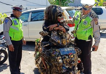 Bikin Melongo, Modifikasi Honda Vario Sampai Polisi dan Warga Dibuat Bingung, Tapi Enggak Ditilang Bro