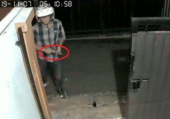 Tebet Geger, Dua Perampok Berhelm Rusak Gembok, Kepergok Pemilik Rumah Langsung Cabut Pistol