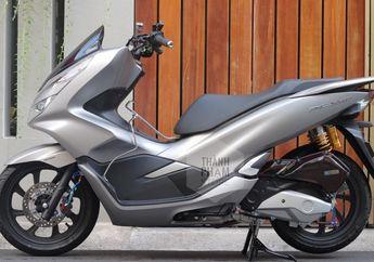 Modifikasi Simpel Ala Sultan, Honda PCX Bergelimang Spare Part Mewah, Jadi Bikin Baper